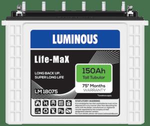 Luminous LifeMax LM18075 150Ah
