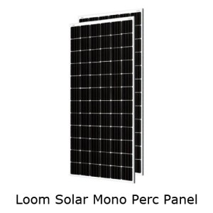 Loom Solar 390W Mono Perc Panel (Pack of 2)