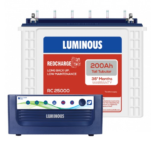 Luminous Eco Volt Neo 1050 and Luminous Red Charge RC25000