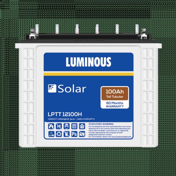 Luminous Solar 100Ah Battery