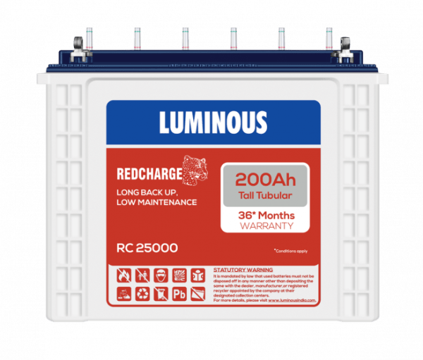 Luminous RC25000 200Ah