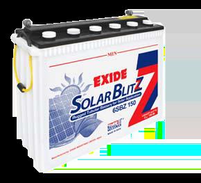 Exide SolarBlitz 6SBZ150 150Ah