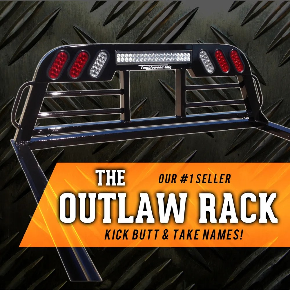 hight resolution of headache rack outlaw edition
