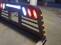 [back rack with lights] - 28 images - backrack cab guards ...