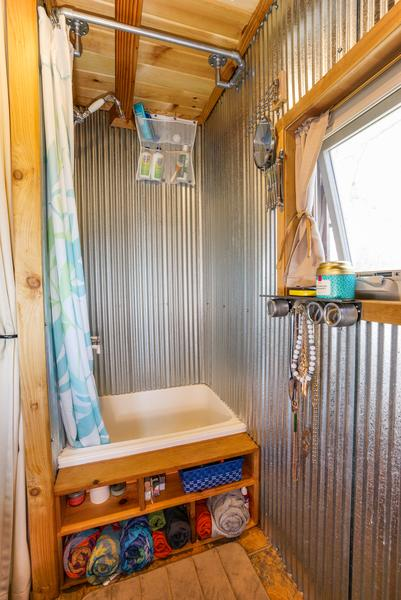 5 Shower Ideas For Tiny House RVs Tumbleweed Houses