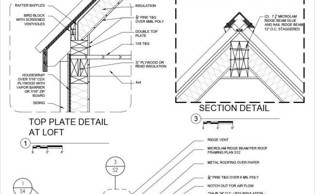 Roof Detail Plan Sheet 7 3 Roof Details Sc 1 St