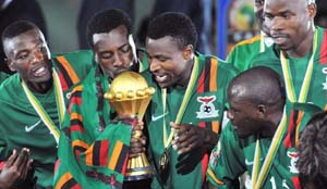 Zambian Football Player Dies On The Pitch