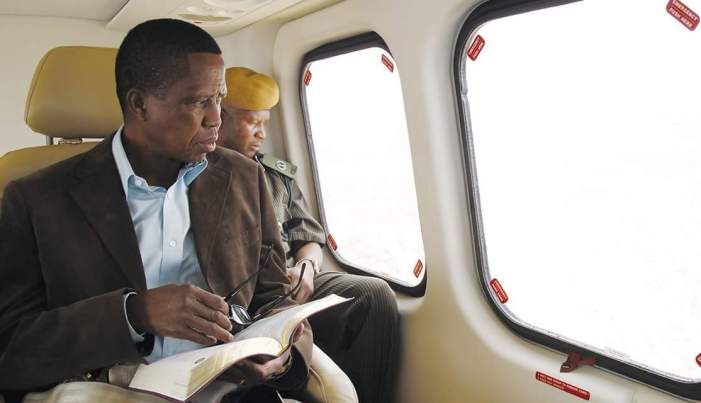 President Lungu Says Hes Eligible to Contest in 2021