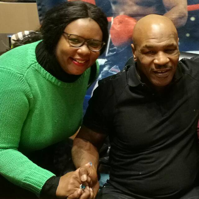 Army Worms Invade Farms, Agriculture Minister Takes Selfies With Mike Tyson