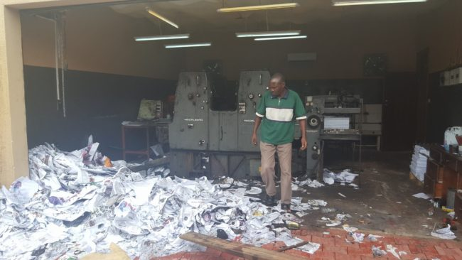 Police Raid M'mber House,  Confiscate Secret Printing Machines