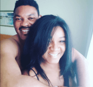 Actress Omotola Shares Valentine Loved Up Selfie With Her Husband