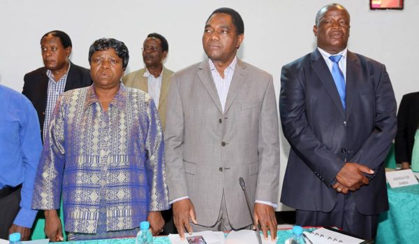We Are Talking To Trump Claims Hichilema