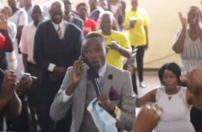 Zimbabwean Pastor's 'LIVE' Phone Call With God'