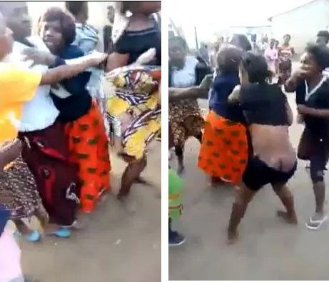 Disturbing: Women Beat Up Fellow Woman For Snatching Their Husbands