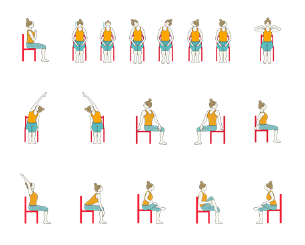 chair yoga for seniors desk comfortable sequences foundational teachers and sequence with restorative poses