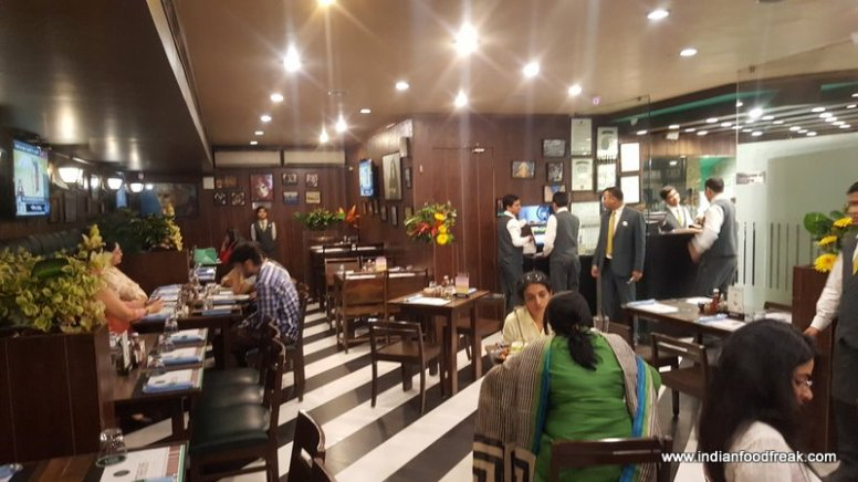 Cafe Theos is one of the most romantic cafes in Delhi.