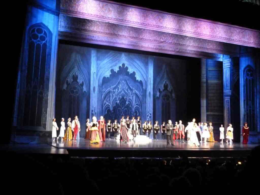 Balet Romeo i Julia w Palais des Congrès de Paris