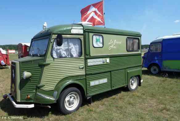 Citroen 20 Friends C2V Poland H Van verte le Grand Ami duży zielony trawiasty grass green camion camionette dostawczy ciężarówka Nasze Strony