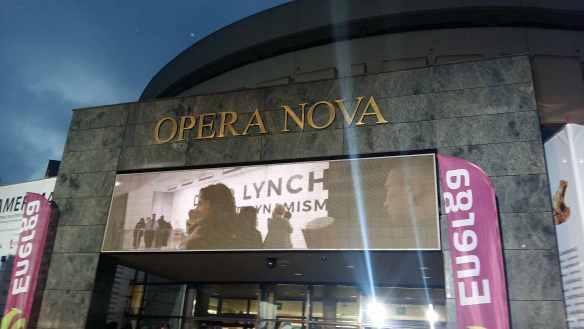 Camerimage film festival Bydgoszcz Poland David Lynch hall action Opera Nova