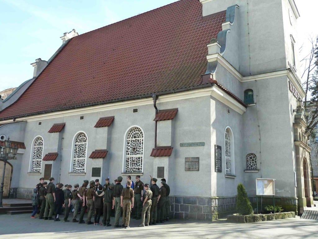 Scouting Harcerze Polskiego ZHP ZHR memoriał pamięci historia Inowrocław mental spiritual development play constructive memorial war died Poland polish Gdynia Hołd