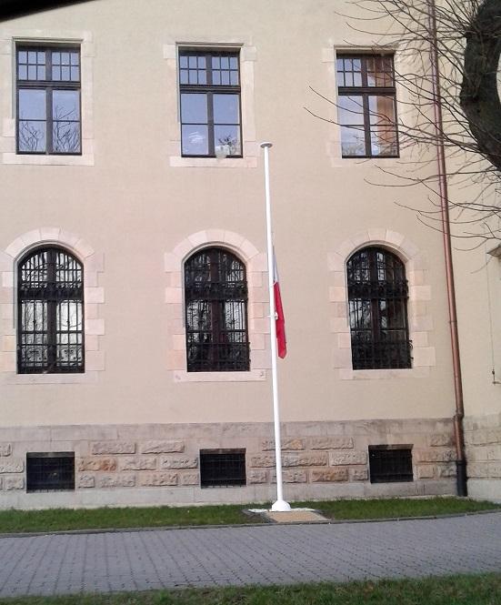 Inowrocławski zdjęcia budynek building president żałoba Poland Polonia Pologne Polen Kujawy Cuiavia Kujawsko Pomorskie