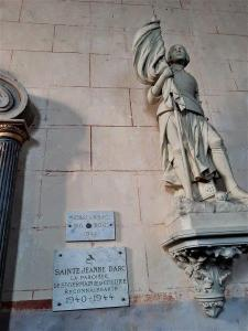 Ferte Bernard Rue de lÉglise Saint Germain de la Coudre France paroise Joanne D Arc