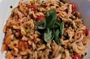 Weganskie makaron pasta potrawy przepisy sprawdzone kucharz menu wegetarianskie vege vegan jarskie jedzenie przysmaki przekaski