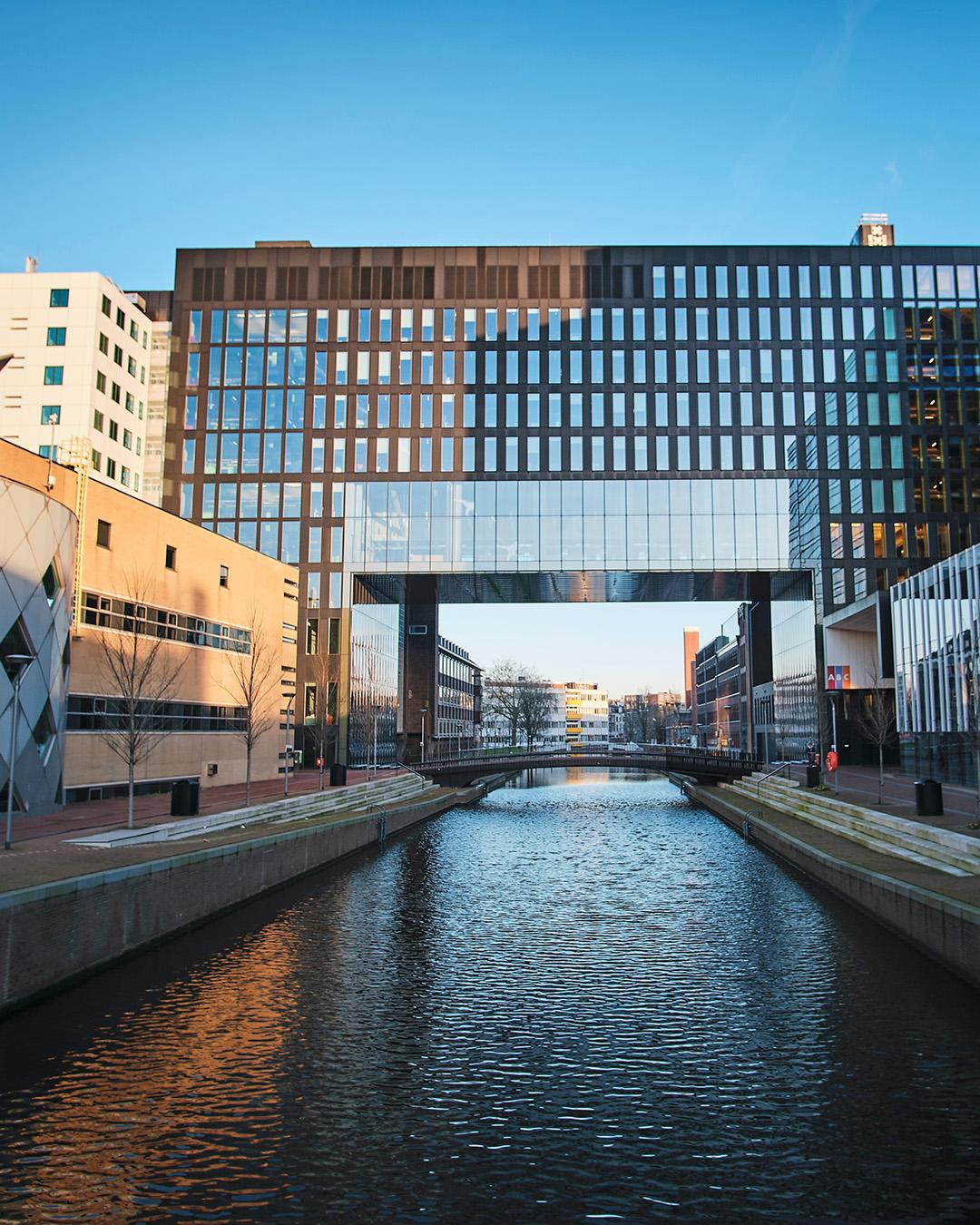 Amsterdam building by Ehud Neuhaus