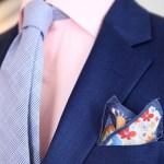 ブルースーツ×ネクタイ|クールな8つの厳選コーデ