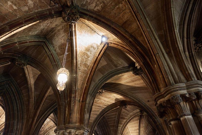 グラスゴー大聖堂の地下