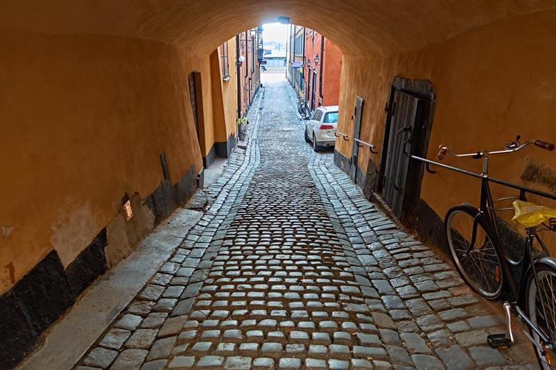 旧市街ガムラ・スタンの街並み