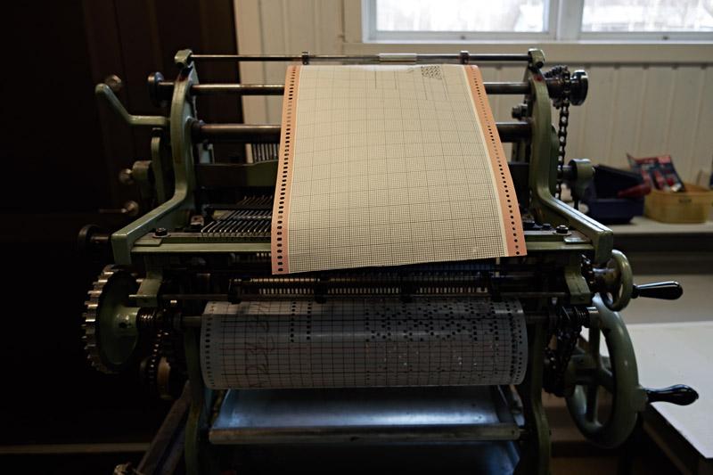 スウェーデンの織物工房