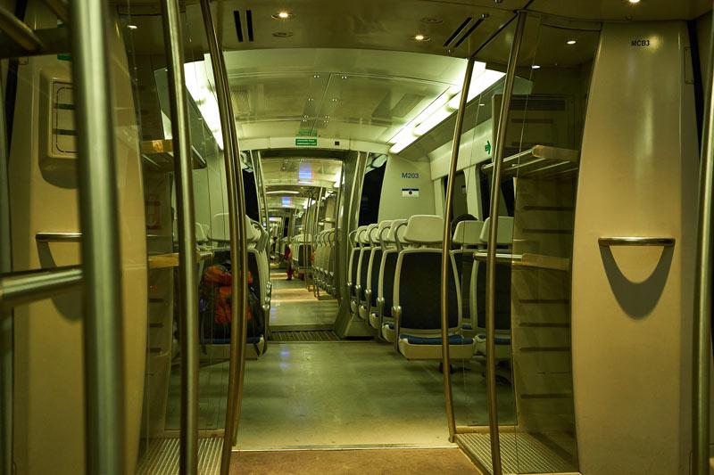 ニューデリーの地下鉄