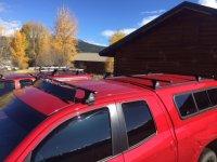 Thule Roof Rack Installed