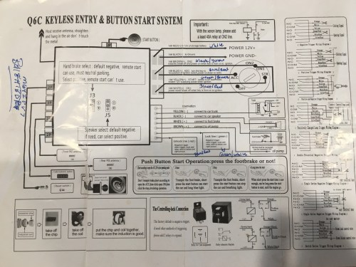 small resolution of aftermarket keyles entry wiring diagram