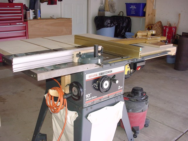 Craftsman Tablesaw Modifications