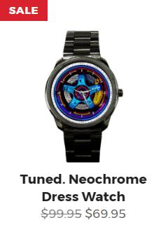 Tuned. Neochrome Dress Watch