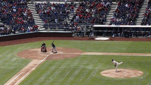 Baseball at Hickory Crawdads in Hickory, North Carolina