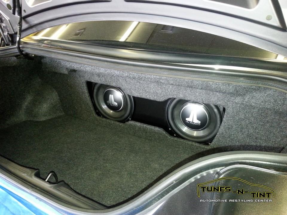 2008 Ford Mustang  Custom Sub Enclosure  TunesNTint