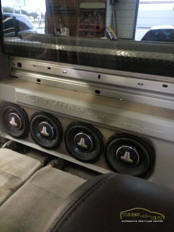 2006 Chevrolet Silverado  Custom Quad Sub Enclosure
