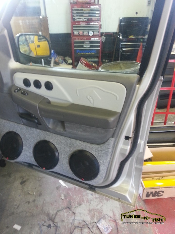 2002 Ford Explorer  Custom Door Panels  TunesNTint