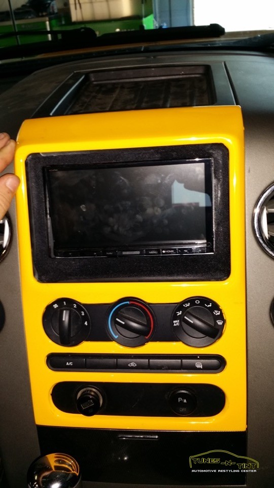2006 Ford F150 Custom Ipad Dash Tunes N Tint
