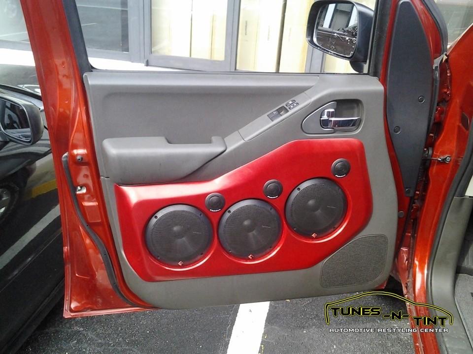 2009 Nissan Frontier  Custom Door Panels  TunesNTint