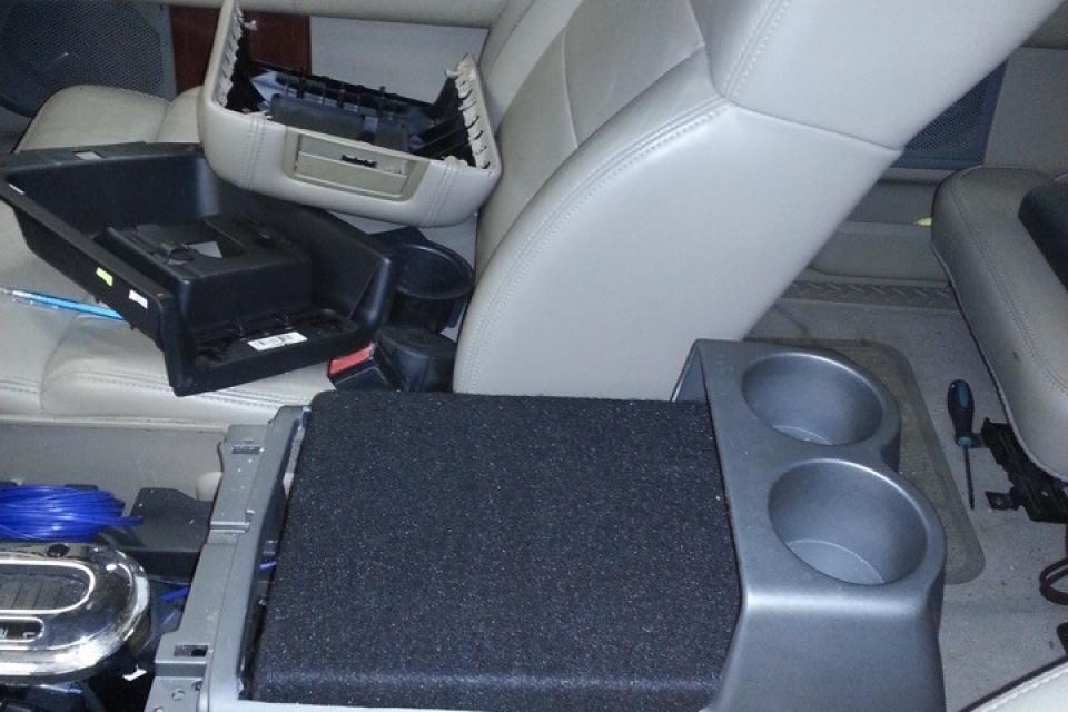 2008 Ford F150 Center Console Sub Enclosure Tunes N Tint