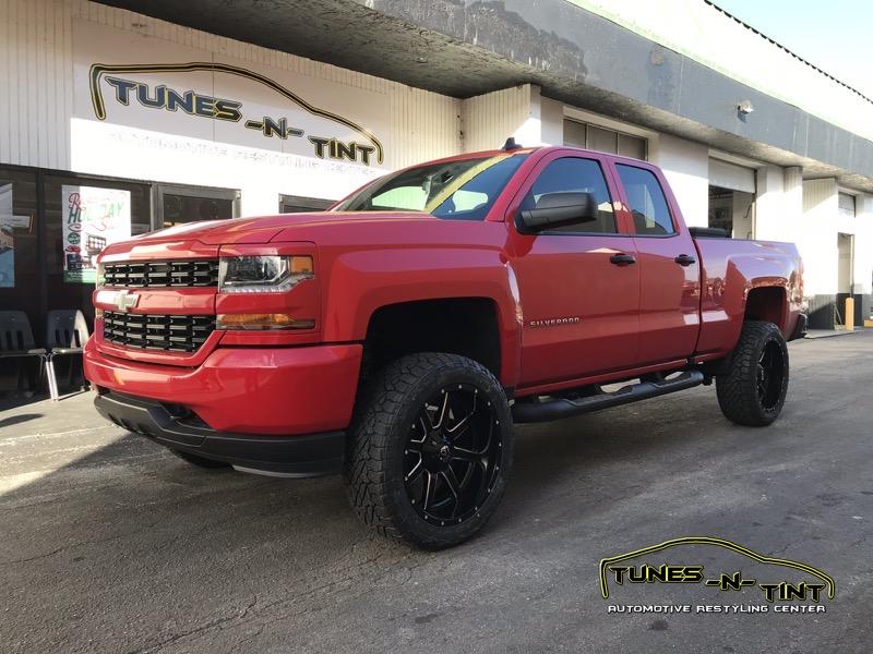 2017 Chevrolet Silverado Accessories Upgrades  TunesNTint