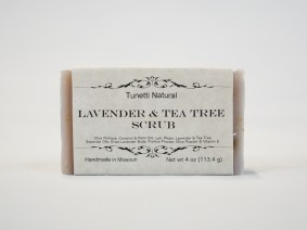 Lavender Tea Tree Scrub Soap