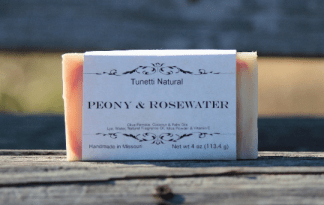Peony & Rosewater soap
