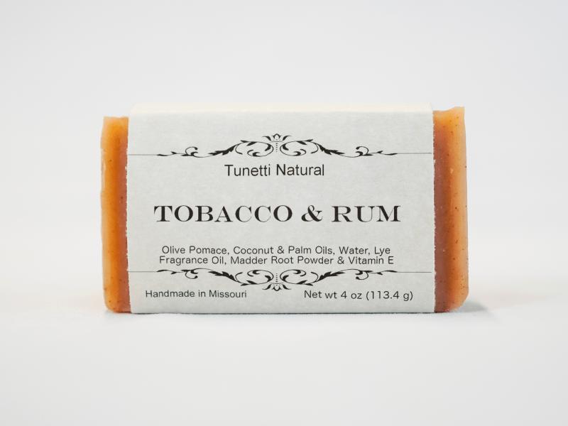 Tobacco & Rum Soap