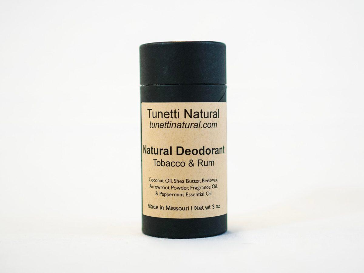 Tobacco & Rum Deodorant