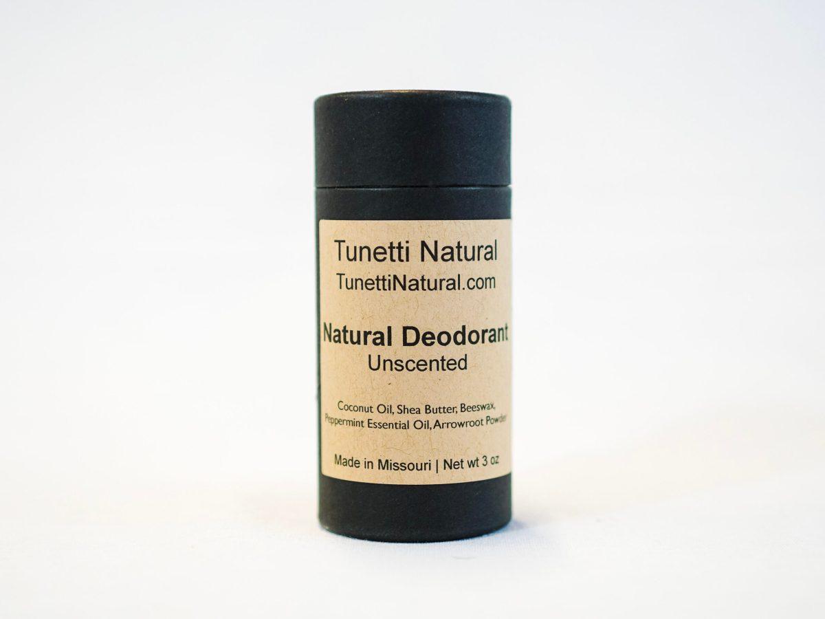 Unscented Deodorant